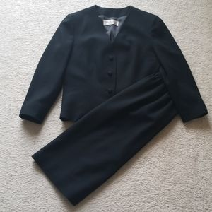 Adolph Schuman for Lilli Ann Wool Crepe Suit